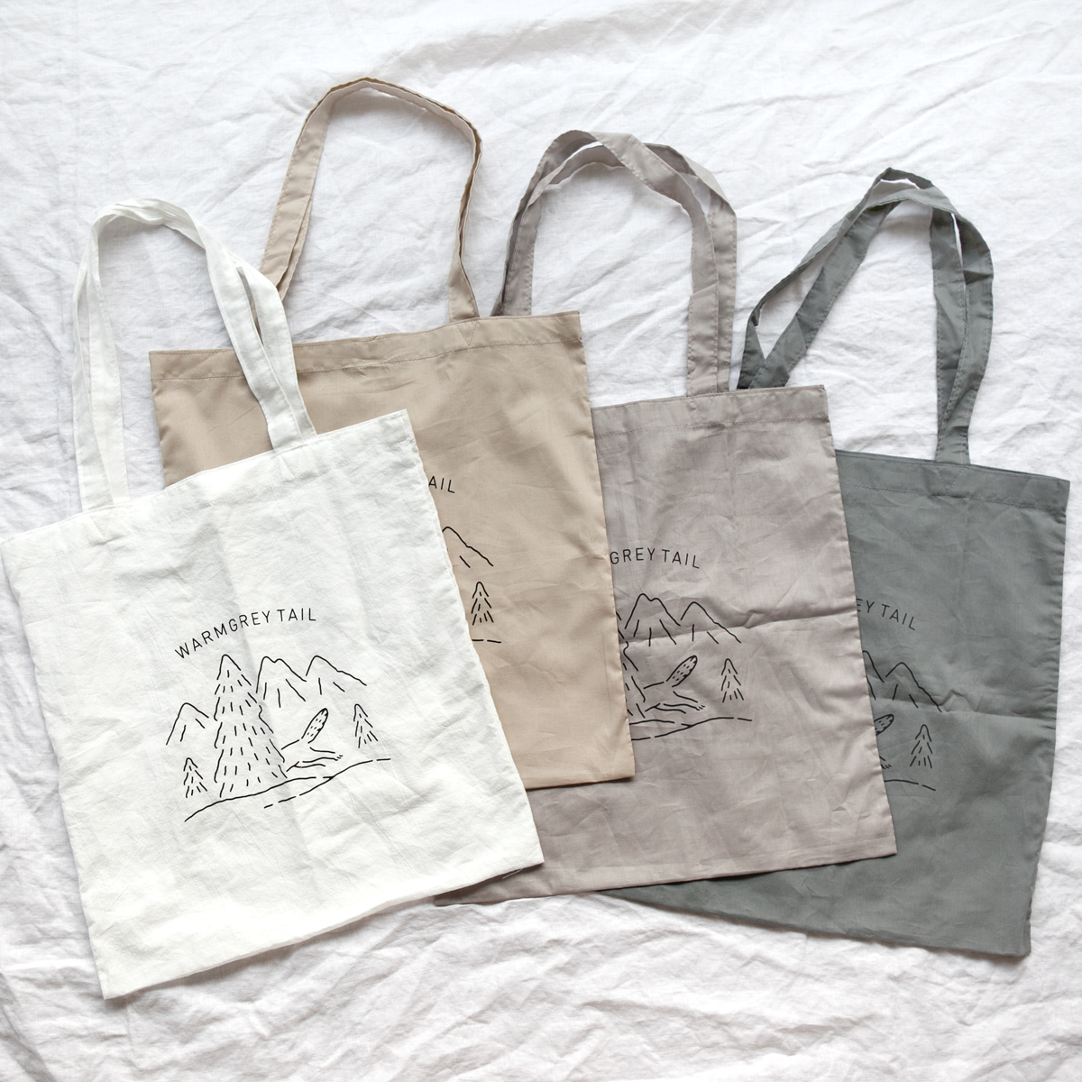 COTTON BAG - 4colors