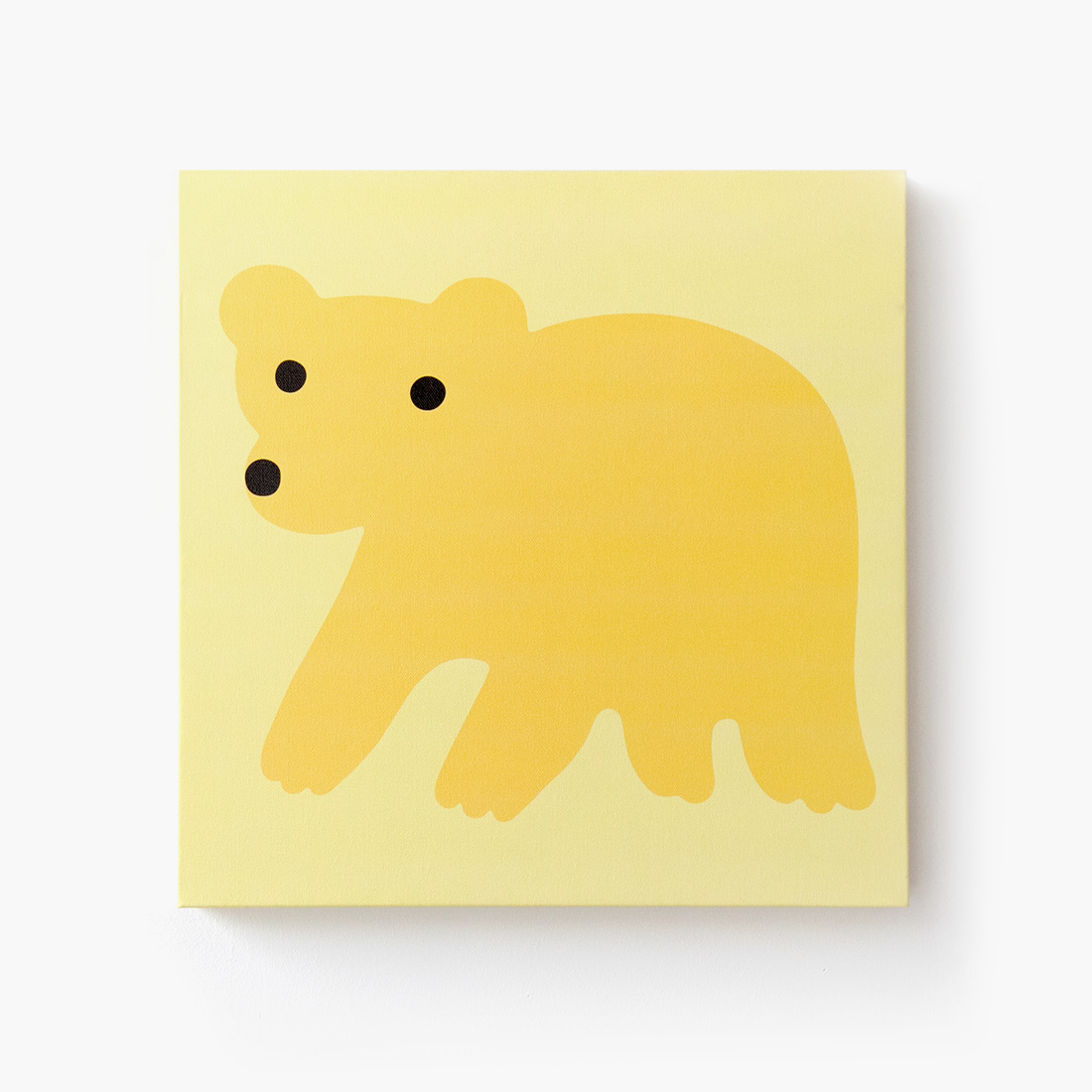 YELLOW BEAR CANVAS