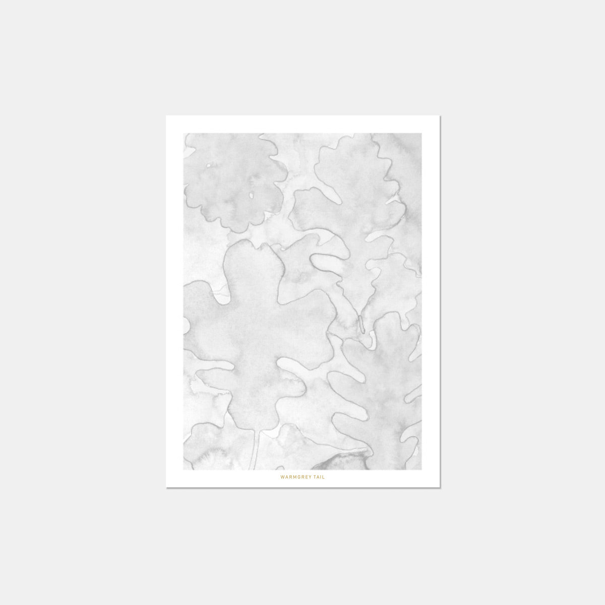 OAK LEAVES POSTCARD