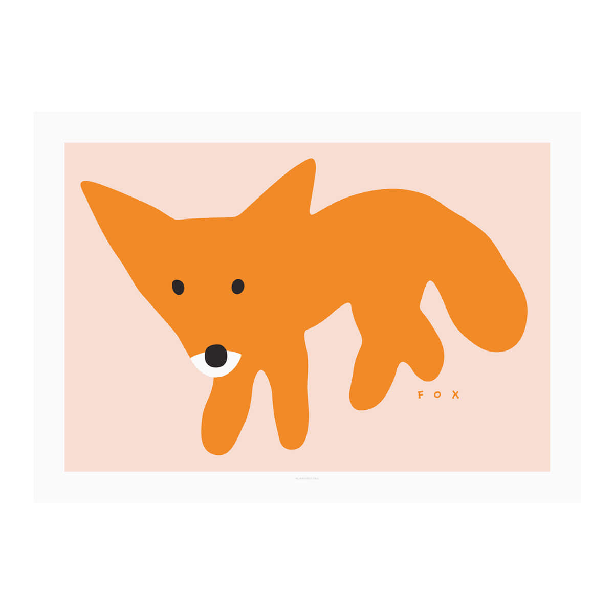 RED FOX-PINK