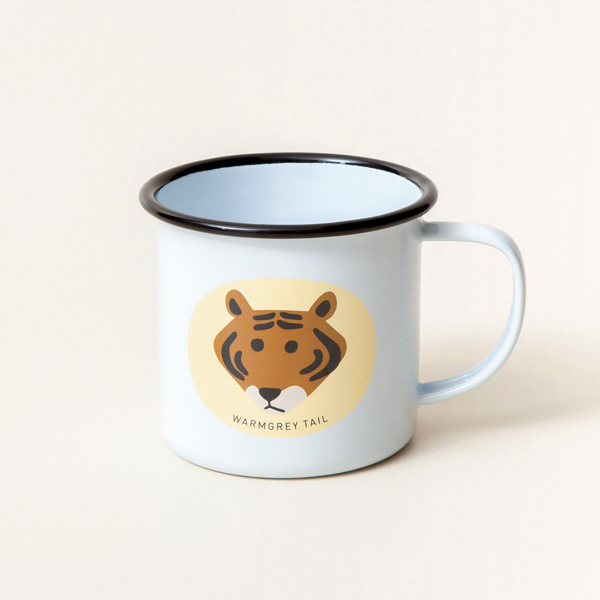 Meet Tiger Yellow Mug Cup