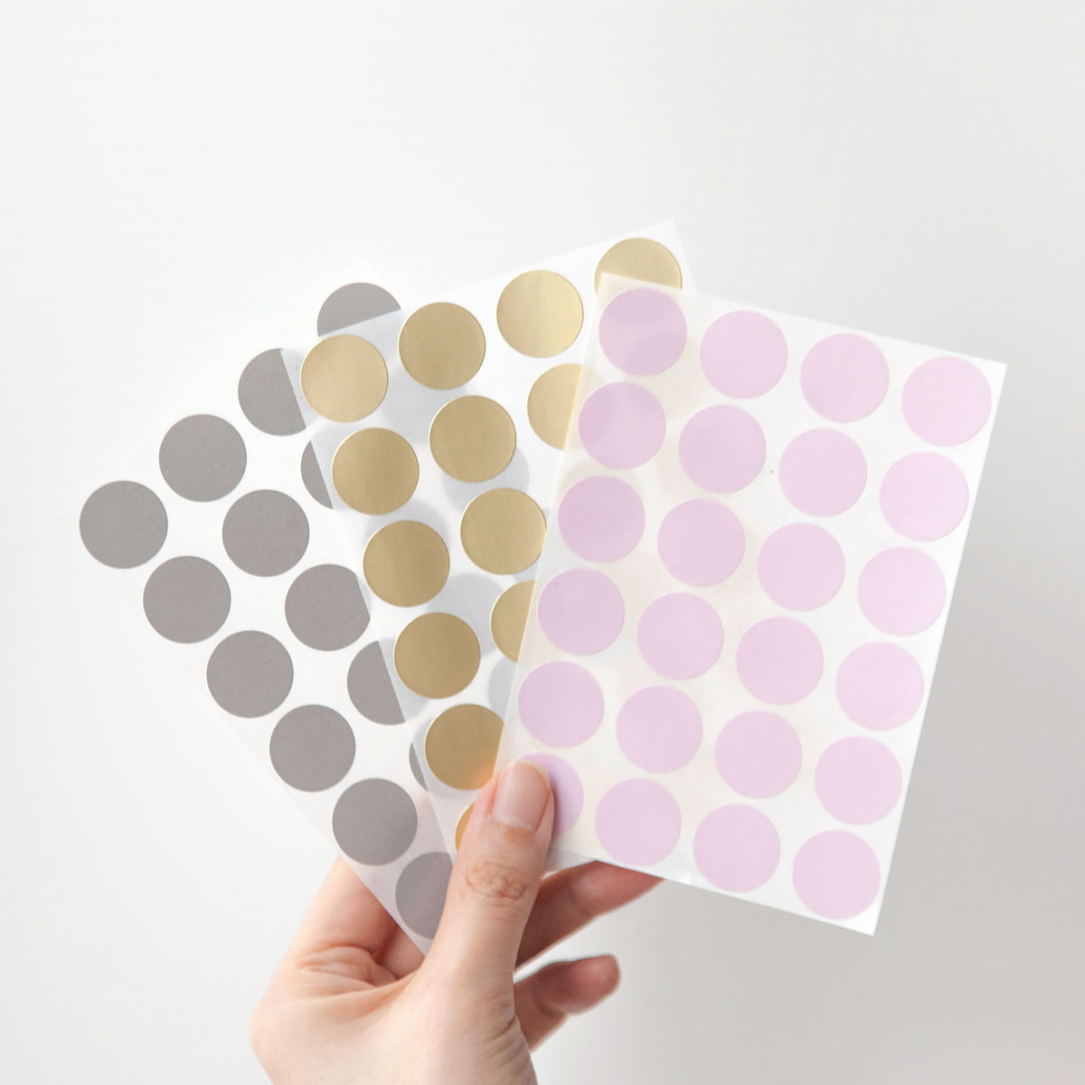 Chroma label Dot Color Sticker