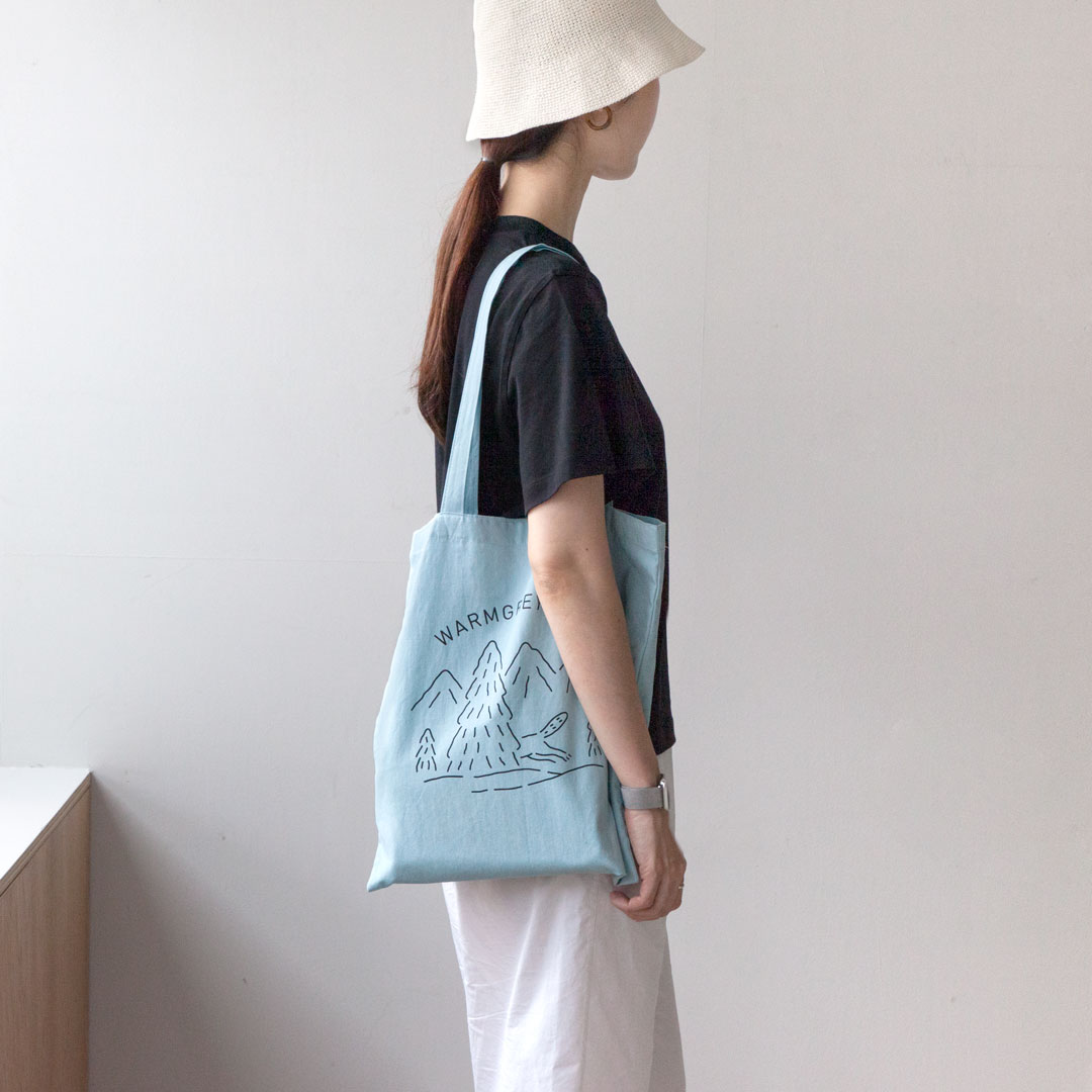 LOGO BAG - LIGHT BLUE