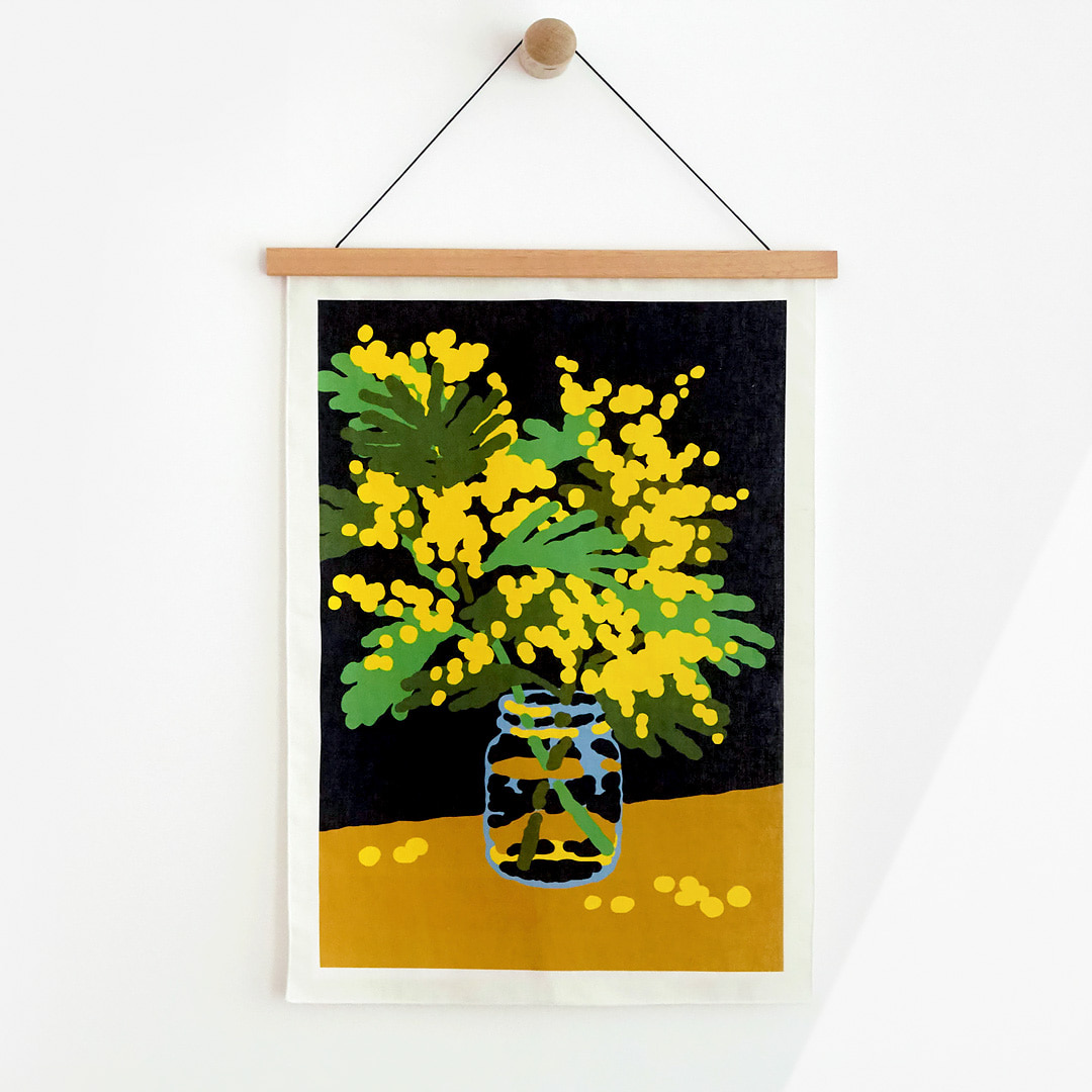 MIMOSA FABRIC POSTER - SMALL