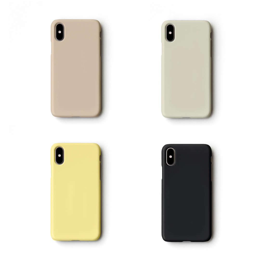 SOLID COLOR PHONE CASE