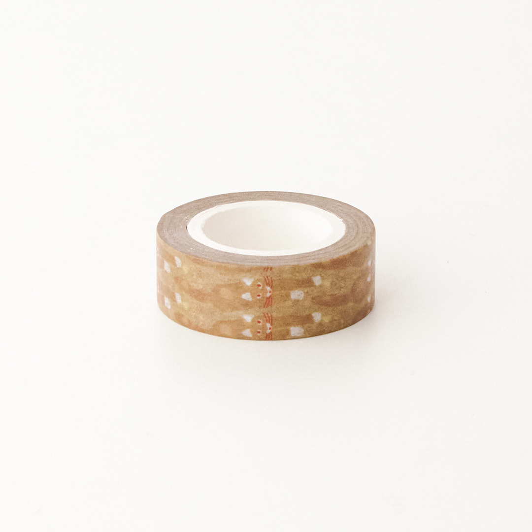 CAT COMING - BROWN MASKING TAPE