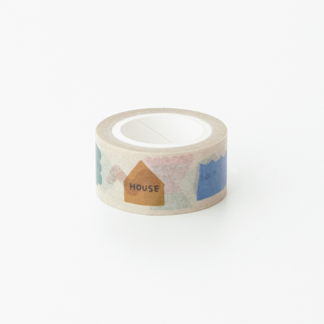CIRCLE OF LIFE - BEIGE MASKING TAPE