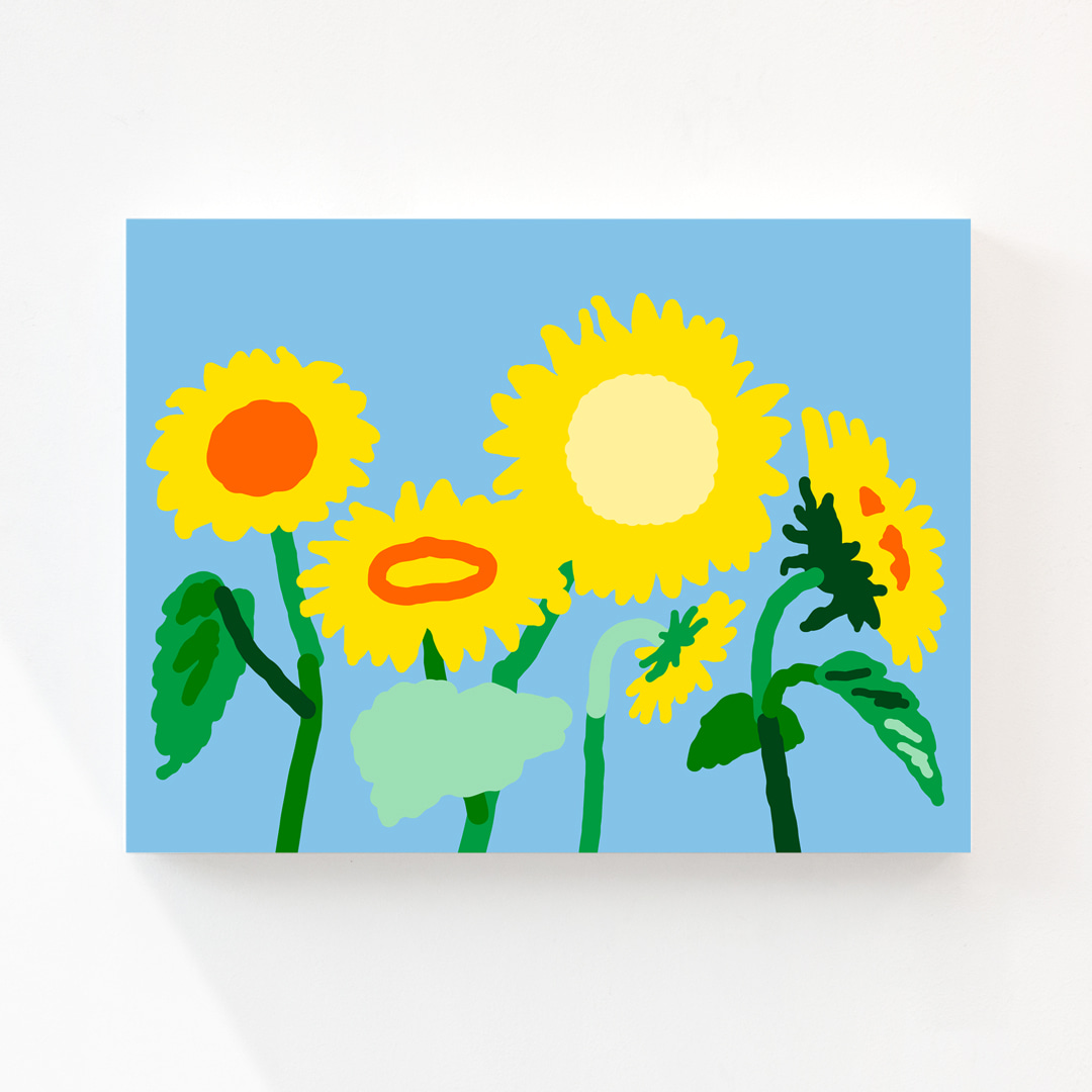 SUNFLOWERS CANVAS